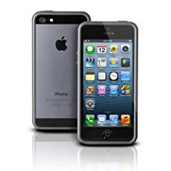 Photive Hybrid iPhone 5 Bumper Case - Black. Designed for The New iPhone 5. Updated Lightning Port Cutout