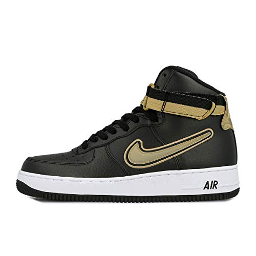 - Nike Air Force 1 High '07 LV8 Sport [AV3938-001] Men Casual Shoes NBA Black/Gold/US 10.5