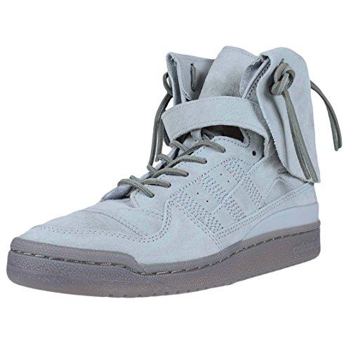 Adidas Forum Hi Moc Hombre US 10.5 Gris Zapatillas: Amazon.es ...