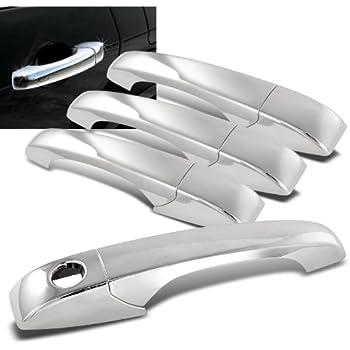 Amazon.com: Chrome Side Door Handle Cover Trims for Chrysler 300 ...
