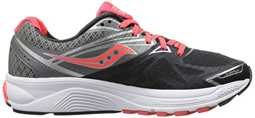 Saucony Ride 9 W, Chaussures de Running Femme Grey/Charcoal/Combo