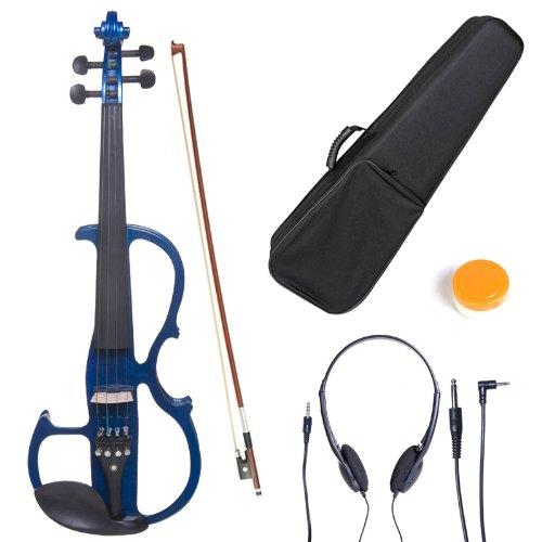Cecilio Cevn-2bl Solid Wood Electric/Silent Violin