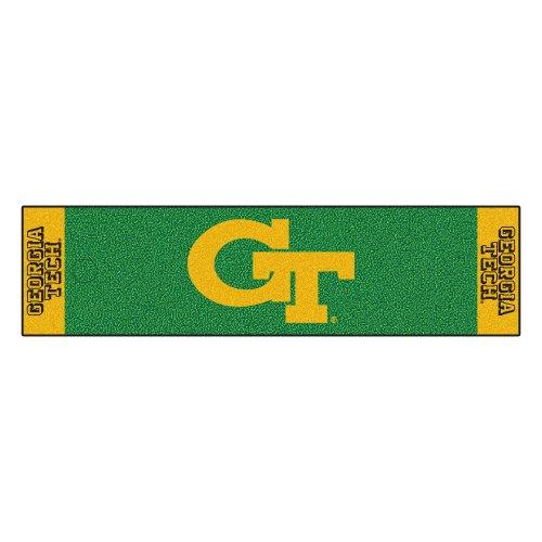 FANMATS NCAA Georgia Tech Yellow Jackets Nylon Face Putting Green - Runner Tech Georgia