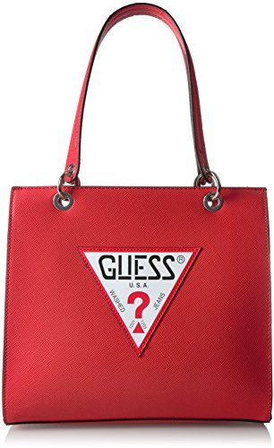 GUESS Varsity Pop Shopper, Red