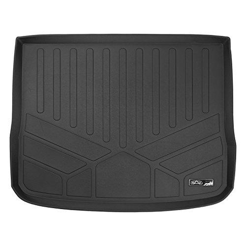 SMARTLINER All Weather Cargo Liner Floor Mat Black for 2009-2017 Volkswagen Tiguan (Mat Floor Volkswagen Black)