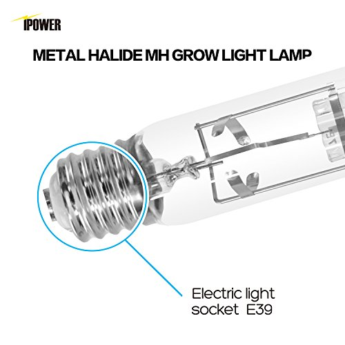 ipower 400 watt metal halide mh grow light bulb lamp  high