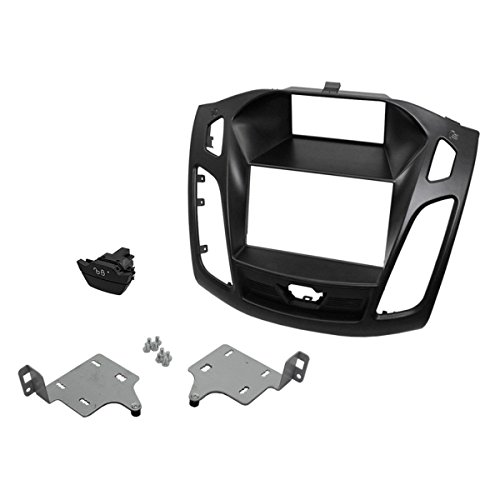 Scosche FD6215B 2015-Up Ford Focus ISO Double Din W/Pocket Kit