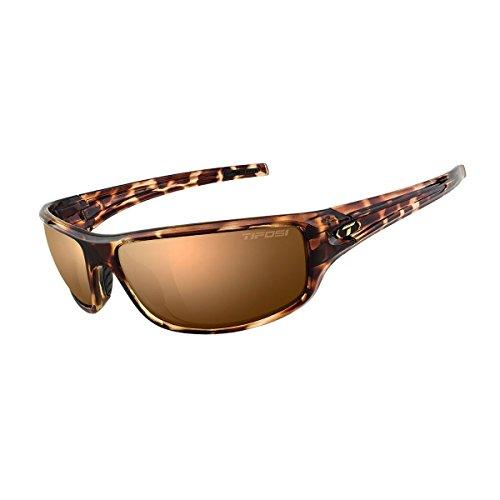 Tifosi 2016 Bronx Polarized Sunglasses, Tortoise