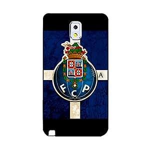 Cover Case Graceful Prevdent Futebol Clube Do Porto Logo Phone Case Fcp Mark Snap on Samsung Galaxy Note 3 N9005 FC Porto Series Logo Printed Case