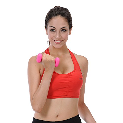 Sunny Health and Fitness Neoprene Dumbbell (2 Pound)