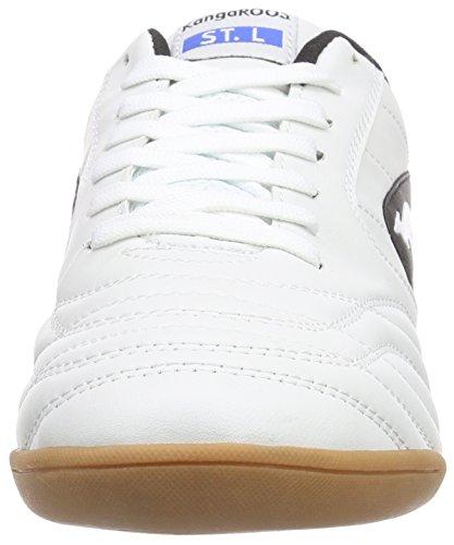 KangaROOS K-Yard 3021 B, Sneakers Basses Homme Blanc/Noir (005)