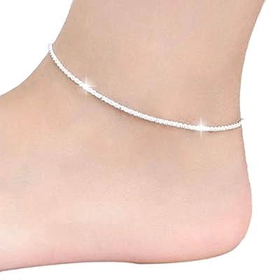 Sandistore 1PC Women Chain Ankle Bracelet Barefoot Sandal Beach Foot Jewelry