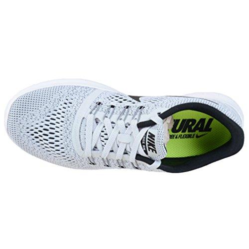 Rn pure Bianco Da Corsa Platinum blanco Nike Black Scarpe Uomo Free white 5SUvOv