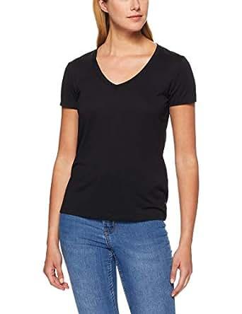 Levi's Women's Essential V Neck, Mineral Black, L -