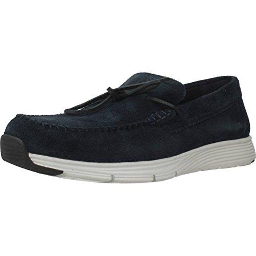 Zapatos para Hombre, Color Azul, Marca GEOX, Modelo Zapatos ...