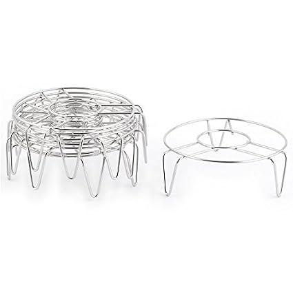 Amazon.com: eDealMax metal del hogar de la cocina de Ronda bollo de ...