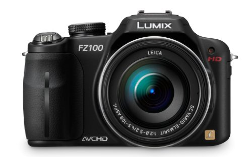 Panasonic Lumix DMC-FZ100 14.1 MP Digital Camera with 24x Optical Image Stabilized Zoom and 3.0-Inch LCD - Black