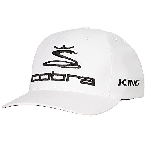 (Cobra Golf 2017 Tour Delta Hat WHT L/XL (White,)