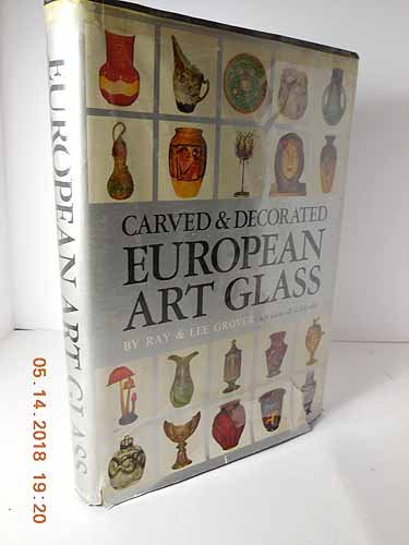 European Art Glass - Carved and Decorated European Art Glass