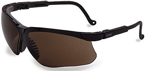 Genesis Ballistic Lens - Sunglasses Safety Glasses Uvex Genesis Ballistic Smoke Lens Shooting Glass