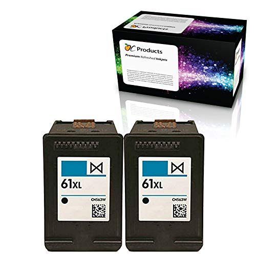 ocproducts refilled HP 61 X L negro Cartucho de tinta reemplazo ...