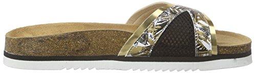 Desigual Damen Shoes_beach Bio 11 Nora Sandalen Schwarz (2000 NEGRO)