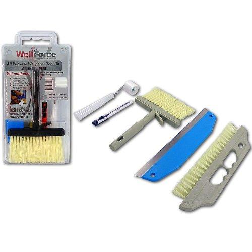 Wellforce 38905 5 Pcs Wallpapering Kit - Wallpaper Tool Kit