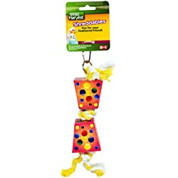 Wild Harvest Shreddables Toy for Cockatiels/Parakeets/Caged Birds (P-84152)