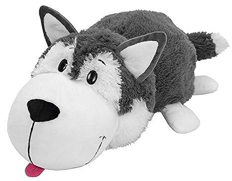 Amazon Com 16 Husky Dog To Polar Bear Flipazoo Stuffed Animal