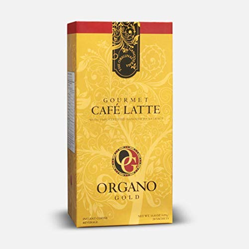 15 Boxes - Organo Gold Gourmet Cafe Latte Coffee mit Ganoderma Lucidum (20 Sachets/Box)
