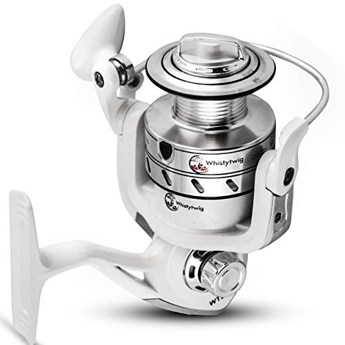 Fishing Spinning Reel with 15LB 7kg Front Drag – Lightweight Reels, 8 1 Ball Bearings, 5.5 Gear Ratio – Smooth, Powerful Operation – It s Ideal for Gamefish in River, Ocean, Freshwater, Saltwater,