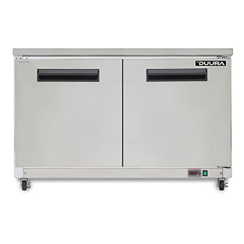 DUURA DVUF48 X-Series Undercounter Freezer, Stainless Steel (Discontinued by Manufacturer)