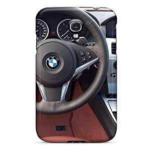 Flexible Tpu Back Case Cover For Galaxy S4 - Bmw 6 Series Dashboard