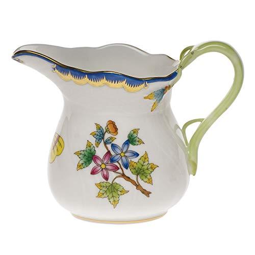 - Herend Queen Victoria Blue Porcelain Creamer