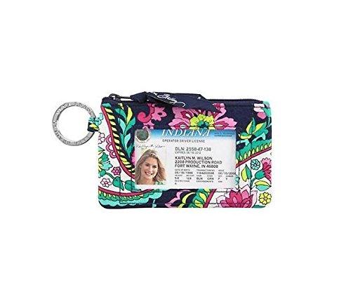 Vera Bradley Zip ID Card Case (Petal Paisley) ()