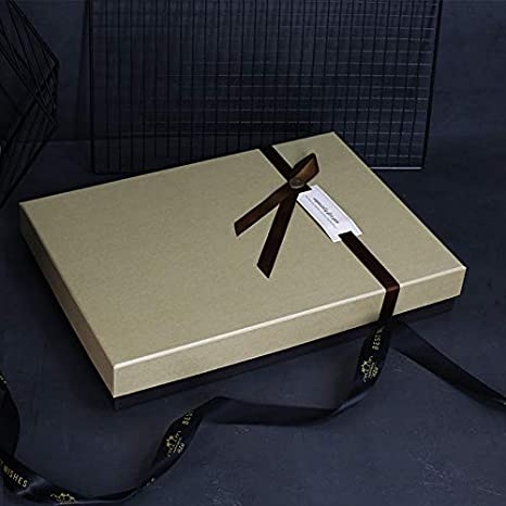 KHKJHT Caja Caja de Camisa Caja de Zapatos Caja de Regalo para Enviar a papá Esposo Caja de Regalo de cumpleaños Caja de Regalo de Nochebuena Caja de cartón Suministros para Fiestas