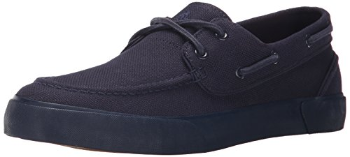Polo Ralph Lauren Men's Lander Fashion Sneaker, Newport Navy, 9.5 D US