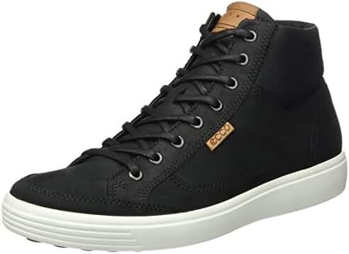 ECCO Men's Soft Vii High-Top Fashion Sneaker