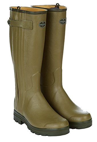 LE CHAMEAU 1927 Men's Chasseur Leather Lined Boot Cuir W - US 11 (Calf 44cm) -
