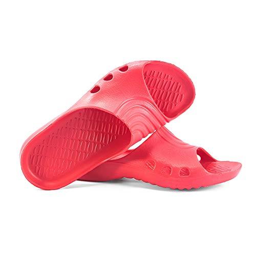 Erwachsene KREXUS Badelatschen Modell Schwimmbadschuhe Badeschuhe für Rosa Palermo 88TIAq