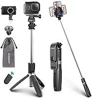 ELEGIANT 【2020 Neueste Modelle】 Selfie Stick Stativ 4 in 1 Selfiestick (100cm) Selfie-Stange Stab Dreibein mit Bluetooth...