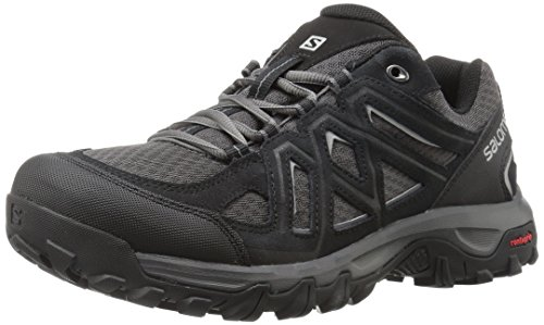 Salomon Men's Evasion 2 Aero Hiking Shoe, Black, 10.5 M US Aero Hiking Shoes
