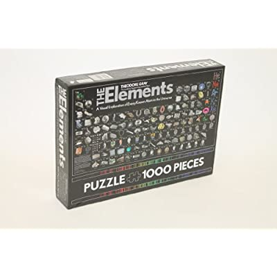 Elements Puzzle: 1000 Pieces: Gray, Theodore: Toys & Games