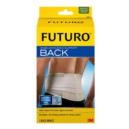 3M Health Care 46816EN Back Support, Large/X-Large, White (Pack of 2) by 3M Health Care (Image #1)