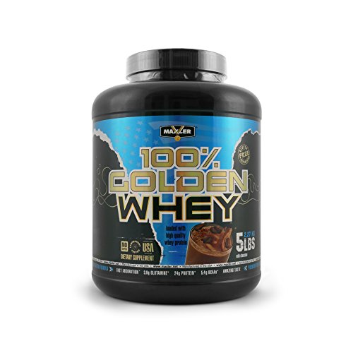 100% Golden Whey | Milk Chocolate | Premium 100% Whey Protein Powder, High Protein, Low Fat, Low Carb, Complete Amino Acid Profile (5-Pounds) Review