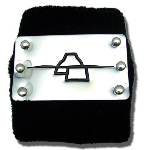 Naruto Shippuden Anti Rock Deidra Metal Wristband Miniature Novelty Toys ()