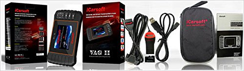 iCarsoft VAG II for Audi / VW / Seat / Skoda NEW VERSION professional diagnostic tool scanner - PLUS FREE extendable SELFIE STICK black ($10 Value) by iCarsoft (Image #5)