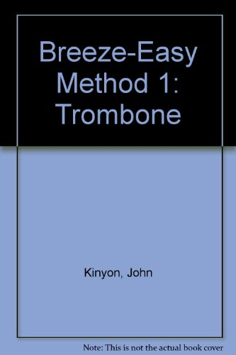 breeze easy book 1 for trombone - 3
