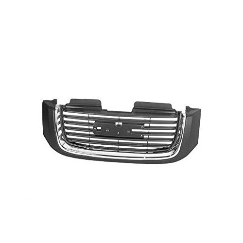 Grille Grill Chrome & Black Front End for GMC Envoy XL XUV