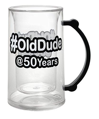 50th birthday beer mug - 9